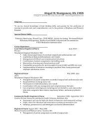 Icu Nurse Resume Sample by Icu Nurse Resume Template Examples