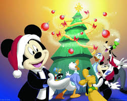 download mickey mouse christmas cartoon celebration wallpaper hd