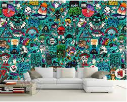 graffiti boys bedroom graffiti wallpaper for boys bedroom 100 images custom