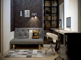luxury home office design with black u0026 white themes