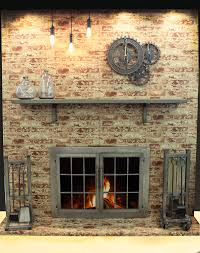 fireplace decorating add industrial style to your fireplace