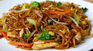 recette cuisine wok wok de poulet aux légumes et nouilles recette légère plat et