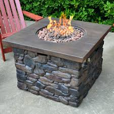 Outdoor Propane Gas Fireplace - propane gas fire pit table concrete natural gas propane fire pit a