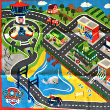 paw patrol adventure bay play table what are all the places in paw patrol adventure bay this rug shows