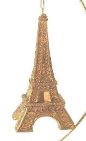 lovely eiffel tower glass ornament lulu designs