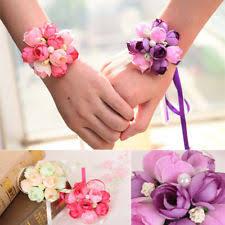 bridesmaid corsage corsage bracelet ebay
