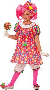 Halloween Costumes Girls Tickles Clown Costume Party Halloween
