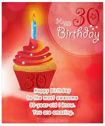 thirty 30th birthday wishes to brighten the day 30 years happy