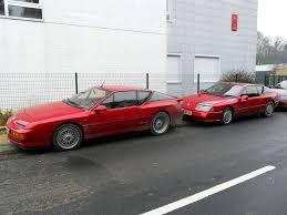 alpine a610 renault alpine a610 et v6 turbo duo d u0027alpines rouges à dom u2026 flickr