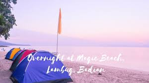 Purple Flag Beach Overnight At Magic Beach Lambug Badian Ft The Trainers Youtube