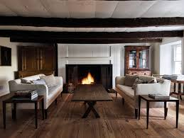 steal this look a rustic farmhouse living room in upstate new taavo somer living room upstate from freeman s book