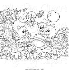 printable pictures 3 pigs coloring 38 free