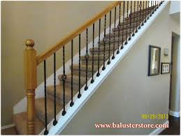 open handrail vs half wall basement remodeling ideas dublin ohio