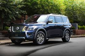 nissan armada 2017 platinum 2018 nissan armada platinum reserve looks sounds fancy roadshow