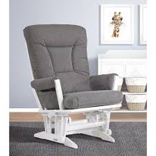 bedroom sophisticated dutailier sleight glider furnishing your alluring dutailier sleight gliders set with ottomans babies in white wood stained and dark grey comfy