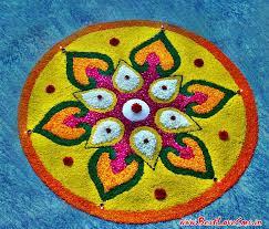 rangoli decoration free easy simple flower rangoli designs for diwali or