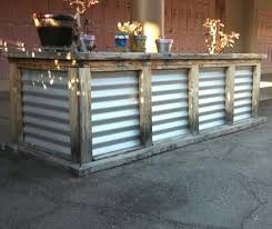 corrugated metal planter great for a raised bed garden i saw