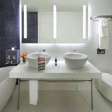 Electric Mirror Bathroom Fusion Lighted Mirror By Electric Mirror Contemporary