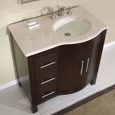 Modern Walnut Bathroom Vanity by 36