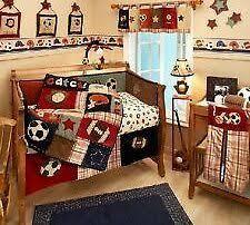 Baby Boy Sports Crib Bedding Sets New Circo 8pieces Baby Boy Sport Crib Bedding Set F C L Http Www