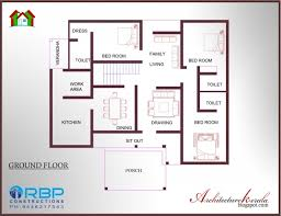 3 bhk single floor house plan cozy design house plans for kerala homes 9 awesome architecture 3