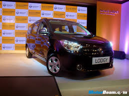 renault lodgy price renault launches lodgy mpv in india priced from rs x lakhs live