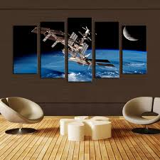 Space Room Decor 5 Piece Oil Painting Cheap China Online Wholesale Buy Stores