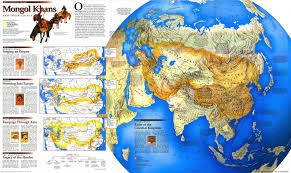 Washington Dc On Map Map Of The Mongolian Empire 4200x2494 1996 National Geographic