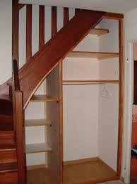 Placard Sous Escalier Avec Tablettes Aménager Un Rangement Sous Un Escalier Maison Rue Arsène Leloup