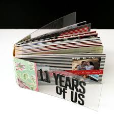 anniversary photo album date anniversary mini album creativity prompt