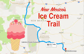 Hobbs New Mexico Map by This Mouthwatering Ice Cream Trail In New Mexico Is All You U0027ve