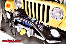 jeep wrangler mercenary jeep upgrade superwinch and rokmen steel bumper road com