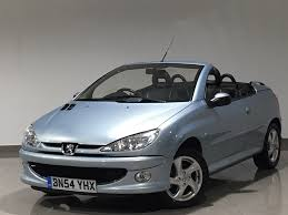 used peugeot 206 cc convertible 1 6 16v allure 2dr in accrington