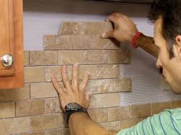Installing Backsplash In Kitchen How To Install A Tile Backsplash Kitchen Images Tiles And