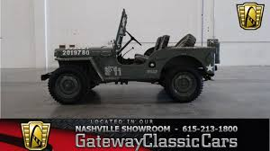 military jeep willys for sale 1948 willy jeep army air corps gateway classic cars of nashville