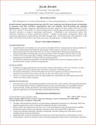 Government Sample Resume Download Contract Administration Sample Resume