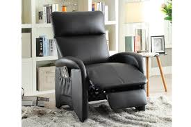Black Leather Recliner Black Leather Recliner Chair The Home Redesign