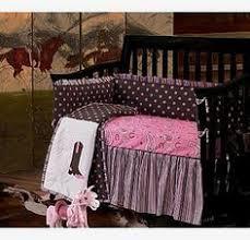 Pink Brown Crib Bedding Avery Pink Paisley Crib Set This Custom Baby Crib Bedding Set