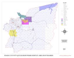Idaho Counties Map Economic Development U2013 Official Idaho County Site
