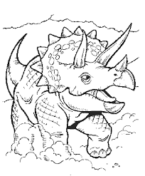 free colouring pages dinosaurs color concept