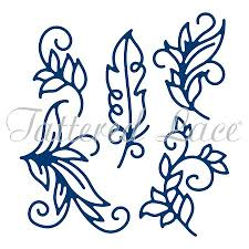 lace dies ornamental flourishes