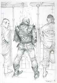 ghost rider by marko djurdjevic marvel pinterest comic