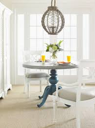stanley pedestal dining table coastal living retreat casual dining room group by stanley furniture