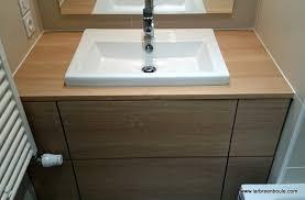 salle de bain plan de travail bien vasque sur plan de travail salle de bain 86 sur carrelage de