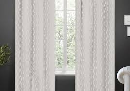 Blackout Drapes Curtains White And Gray Blackout Curtains Alarming Gray And