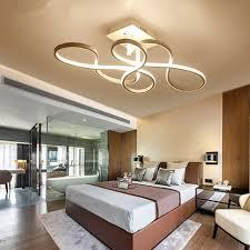 Creative Bedroom Lighting Post Modern Art Led Ceiling Light Simple Creative Living Room