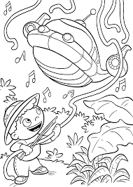 little einsteins cartoon coloring pages for kids printable free