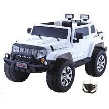jeep cars white white modern jeep style kids 4x4 24v electric suv 299 95 kids
