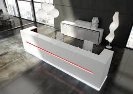 Reception Desks Sydney by Cool Modern Desks Delightful Modern White Reception Desk Design