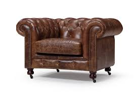 Vintage Brown Leather Armchair The Kensington Chesterfield Tufted Chair Rose And Moore